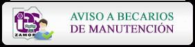 Aviso a Becarios de Manutención 2014