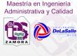 """""""Maestría en Ingeniería Administrativa y Calidad"""""""