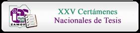 XXV Certámenes Nacionales de Tesis