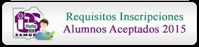 Requisitos Inscripciones