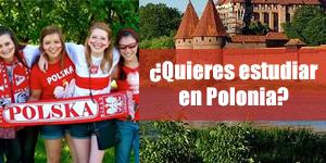 ¿Quieres estudiar en Polonia?