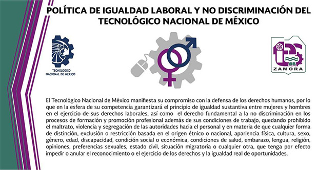 Política De Igualdad Laboral Y No Discriminación